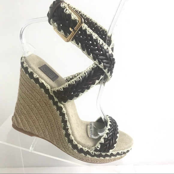 4ee9ccf6b89 Tory Burch Espadrille Wedges Paloma Sandals 8